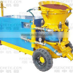 dry mix gunite spraying machine