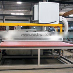 horizontal Glass Washing and Drying Machine 2500mm for mirror glass, facade, windows/glass double edger