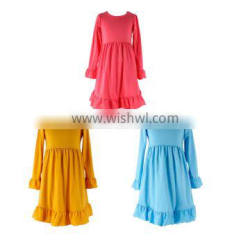 High Quality Fall Fairy Girls Dress Girls Fall Party Dresses Fall Flower Girl Dresses