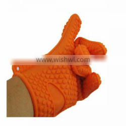 FDA & LFGB Factory price silicone rubber grill gloves cooking silicone gloves