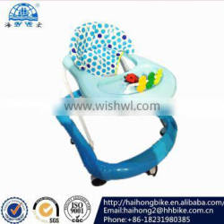 Beautiful design mother like OEM baby baby walkerr with music and light 8 wheel