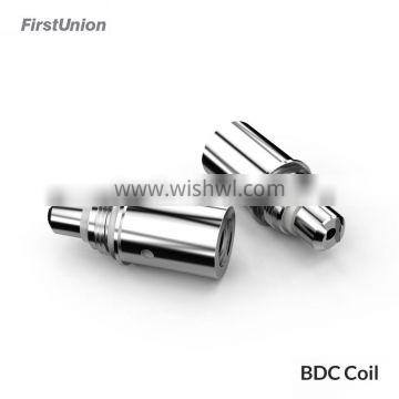 First Union e cig accessories BDC coil for ET-S Glass version