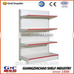 Adjustable Single-sided Display Shelf for Retail Shops or Stores