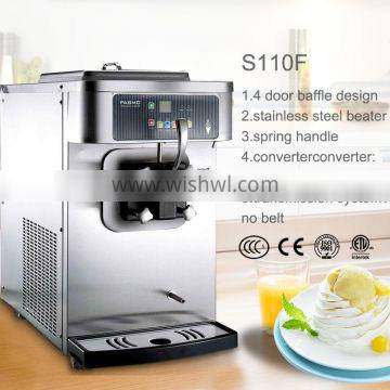 S110F low energy cost and high efficient thai ice cream machine