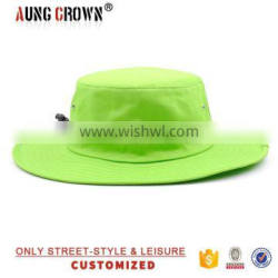bucket hat with large brim,bucket hat with strings,fisherman bucket hat