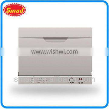 Home use counter top dish washer for 6 sets