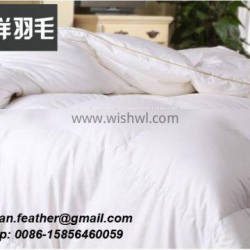Classic White Duck Feather and Down Duvet Wholesale Goose Feather Down Duvet