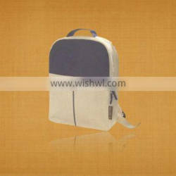 Recycled Organic Canvas Trade show Backpack