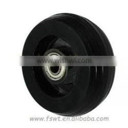 Rubber Heavy Duty Castor And Iron Core Furniture Caster And Wheel