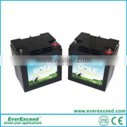 2016 Hot Sale EverExceed 28AH deep cycle Golf Cart lithium battery