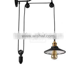 Factory Iron Wall Light Vintage Home Wall Sconce Filament Lighting