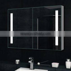 Vanity mirror cabinet with LED light