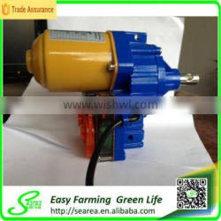 greenhouse roll up motor for ventilation with DC 24V (high quality searea brand)