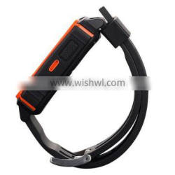 IP68 waterproof heart rate smart watch sync with Android and IOS watch smart