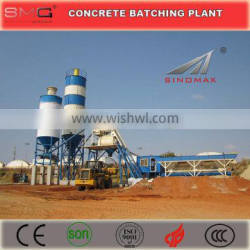 35m3/h HZS35 Lifting Hopper Stationary Ready Mix Concrete Batching Plant for sale made in China