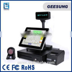 15 inch Android POS terminal with customer display for android POS
