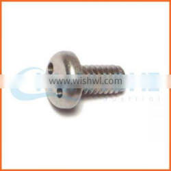 China supplier stainless steel torx countersunk head anti-theft screws