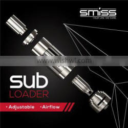 e-cigarette filter replacements Smiss Latest Top Inject Design No Leakage Tank Sub Ohm Atomizer SUB LOADER