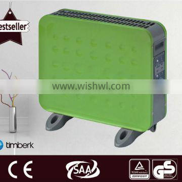 Small convector heater under table heaters