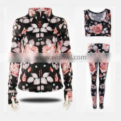 wholesale womens fitness clothing yoga suit