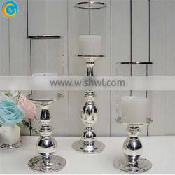 tall glass candle holder for wedding centerpieces hotel decoration Quality Choice