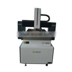 3d cnc wood carving machine 600*900mm working area 2.2kw water cooling spindle 6090 cnc wood router