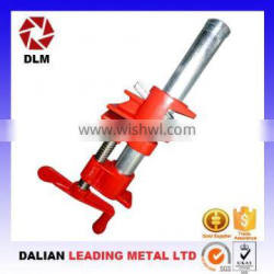 OEM malleable cast iron casting steel thread rod slide bar woodworking steel-structure clamping apparatus Pipe Clamps