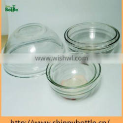 stable quality glass bowls empty