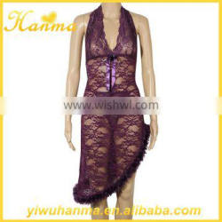 Wholesale clothing women sexy fancy night gown for woman