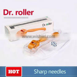 Dr roller with 1.5mm needles for beauty which are popular selling in Korea