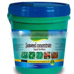 ISO manufacturer : Seaweed concentrate organic liquid NPK fertilizer