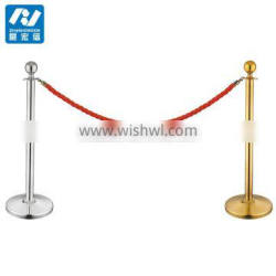 38/50/63mm ball queue barrier with rope