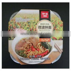 Fast food Quick cooking noodle with spicy