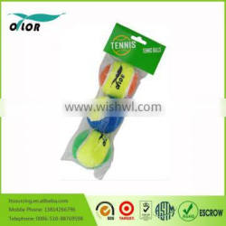 Training colored wholesale tennis ball for bulk