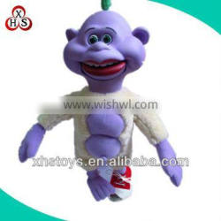 custom plush doll talking figure toys for sale
