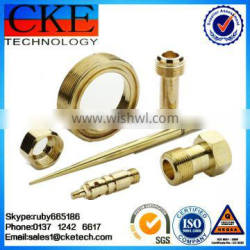 Custom Brass CNC Machining Parts in High Quality Turned Parts