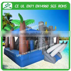 Customized Beautiful Elephant Castle Inflatable Bounce House, Bouncy Castle, Bouncer and Jumper for Kids
