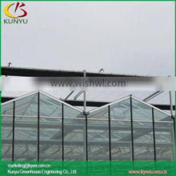 Venlo roof large greenhouse glass greenhouse with roof ventilation systems