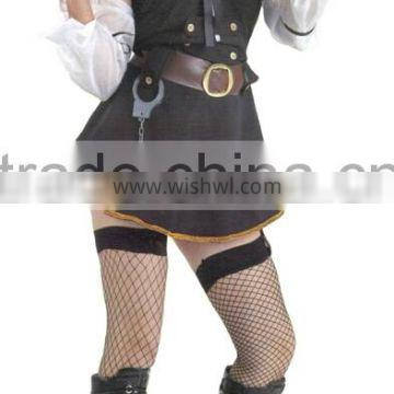2016 hot sale sexy policeman costume for adult