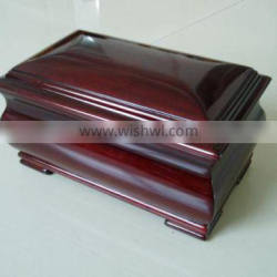 Competitive price cherry wooden urn cremation for ashes