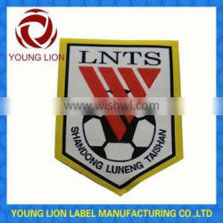 hand embroidered sports club badges