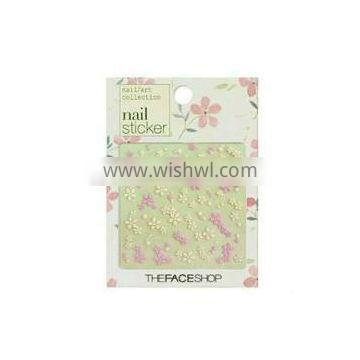 3D adhesive Nail sticker for nail beauty or care