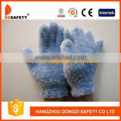 DDSAFETY Blue Feather Yarn Glove Magic Gloves Daily Gloves