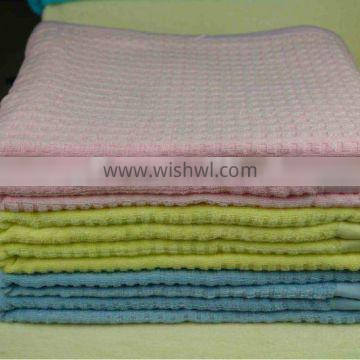 Kinds Size 100 Bamboo Comfortable Waffle Jacquard Summer Quilt