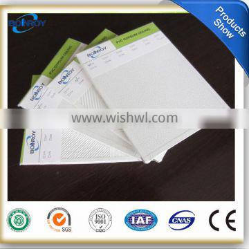 7mm Gypsum Board False Ceiling Tiles