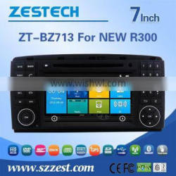 In-dash 2 din car dvd gps for BENZ NEW R300 with DVD,GPS,Radio,SWC,RDS,VDR,WIFI