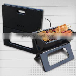folding portable ,camping cookware using charcoal