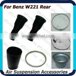 for Mercedes-Benz W221/S350 S500 Auto Air Suspension parts rear rubber sleeves rings