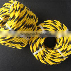 China Factory 3 Strands PE Tiger Rope PP Tiger Rope for Warning