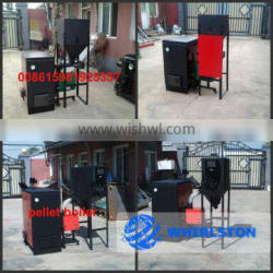 whirlston automatic operating residential pellet boiler